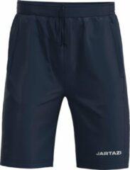 Donkerblauwe Jartazi Sportbroek Junior Polyester Zwart Mt 158/164