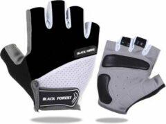 Zwarte NoraSol Fietshandschoenen met grip - Maat XL