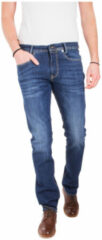 Blauwe MAC slim fit jeans MACFLEXX deep blue vintage wash