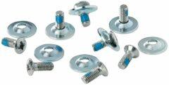 Zilveren Dakine Binding Hardware - Steel