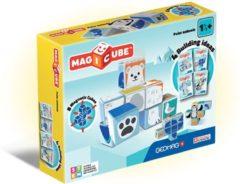Blauwe Selecta Spel en Hobby Geomag MagiCube Polar Animals - 8 delig