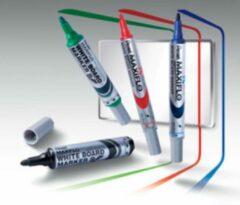 Uitwisbare marker Pentel Maxiflo kegelpunt medium 4 mm blauw
