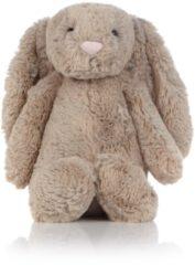 Bruine Jellycat Bashful konijn knuffel 31 cm