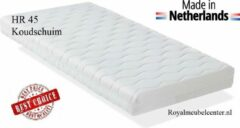 Witte Matras 90x200x10 cm Koudschuim HR 45 ledikant matras met anti-allergische wasbare hoes. Royalmeubelcenter.nl ®