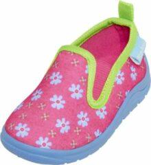 Playshoes Pantoffels Bloemen Junior Roze Maat 28/29