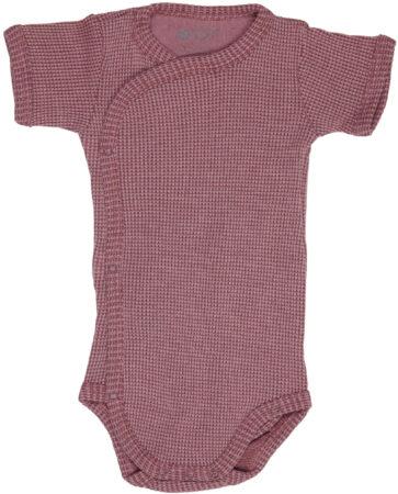 Afbeelding van Lodger Rompertje Baby - Romper Ciumbelle - Donkerroze - Korte mouw - 62