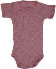 Lodger Rompertje Baby - Romper Ciumbelle - Donkerroze - Korte mouw - 62