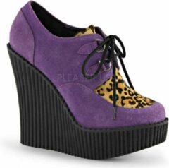 Demonia Sleehakken -39 Shoes- CREEPER-304 US 9 Paars