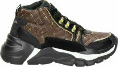 Supertrash Dyan dames sneaker - Zwart bruin - Maat 36