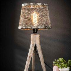 Grijze Easy Furn Tafellamp Winona