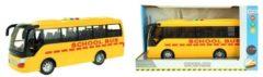 Toi-Toys Toi Toys schoolbus met licht en geluid 30 cm geel