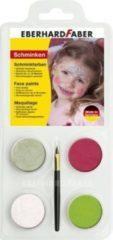 Eberhard Faber Schminkset EFA Prinses - met 4 kleuren, penseel en