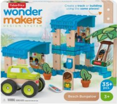 Mattel Fisher-Price Wonder Makers Huis - Houten Bouwset