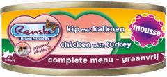 Renske Vers Kat Mousse 70 g - Kattenvoer - Kip&Kalkoen