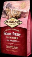 Carnilove Zalm & Kalkoen Kittens 400g