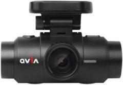 Zwarte Qvia Dashcam voor auto QR790 1CH Night vision 16gb Wifi - GPS
