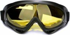 Sitna Ski & Snowboard Bril - Volwassenen - Masker - Geel - Wintersport