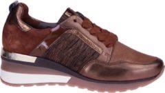 Softwaves Cognac Sneaker Wedge