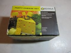 Gele Boska Party Cheese set