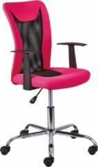 Interlink SAS Bureaustoel Donny - roze