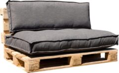Grijze In The Mood Collection In The Mood Palletkussenset Salvador Antraciet