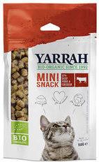 Yarrah Bio Kat Mini Snacks - Kattensnack - Rund 50 g - Kattenvoer