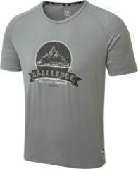 Dare 2B Righteous II Grafisch T-Shirt Met Korte Mouwen Voor Heren Grijs