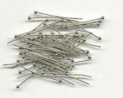 Top-Hobby 40 Ball Pins - 0,05mm x 20mm - Zilverkleurig