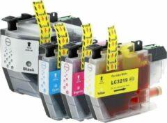 Cyane MediaHolland Huismerk Cartridges LC3219 - LC3217 Voordeelpack 4 stuks