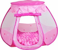 Rosa Kinderzelt und Bällebad mit 100 Bällen, »Bella«, knorr toys