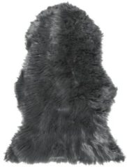 Beliani MUNGO Schapenvel Grijs Polyester 88x53x3