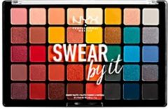 NYX Professional Makeup NYX PMU Professional Makeup Swear By It Shadow Palette - SBISP01 - Oogschaduw Palet - 1 st