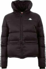 Kappa Herolda Wm Jacket 308026-19-4006, Vrouwen, Zwart, Sportjas, maat: L EU