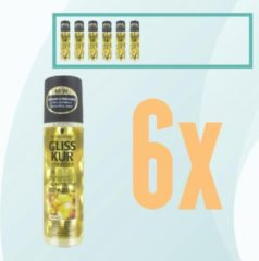 Gliss Kur - Oil Nutritive - Schwarzkopf - Anti Klit Spray - 6x 200 ml - Voordeelpakket - Voordeelbundel - Gliss Kur Pakket - Schwarzkopf Pakket