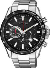 Citizen CA4444-82E Horloge Heren Ecodrive Super Titanium Chrono Zwart