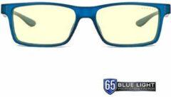 Marineblauwe GUNNAR OPTIKS Cruz Bril - Blauw - Voor jonge adolescenten van 12 tot 18 jaar oud
