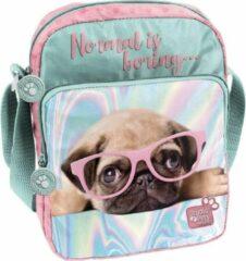 Studio Pets Normal is boring - schoudertas - 24 x 18 x 7 cm - Multi