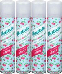 Batiste Cherry Droogshampoo - 4 x 200 ml - Voordeelpakket