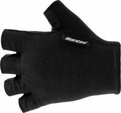 Santini - Cycling Glove Short Cubo - Handschoenen maat L, zwart