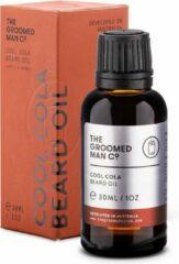 The Groomed Man Co. Cool Cola Beard Oil - Premium Baardolie - Stimuleert Baardgroei - Baard Verzorging Mannen - Olie Geur Citroen/Kaneel/Nootmuskaat - 30ML
