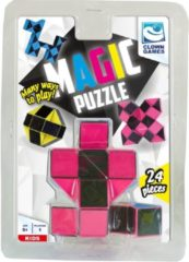 Clown Games Clown Magic Puzzle 3d 24 Dlg Roze