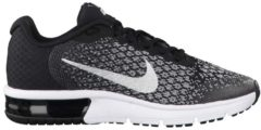 Sneaker Air Max Sequent 2 (GS) mit Max Air-Element 869993-001 Nike Pure Platinum/Black-Cool Grey-Wolf Grey