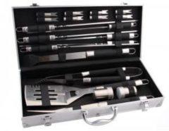 Roestvrijstalen BBGRILL bbq grill - accessoiresset - 20 tools