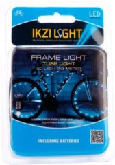 Blauwe Ikzi Light IKZI framelicht/wiellicht slang 20 led's wit
