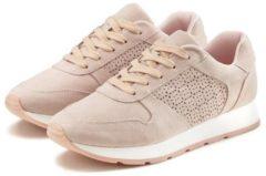 Roze LASCANA Sneaker, met filigrane cut-outs
