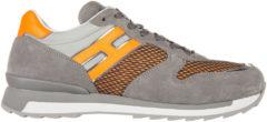 Grigio Hogan Rebel Scarpe sneakers uomo in pelle r261