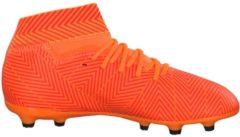 Fußballschuhe NEMEZIZ 18.3 FG J mit AGILITY MESH Obermaterial DB2352 adidas performance ZEST/CBLACK/SOLRED