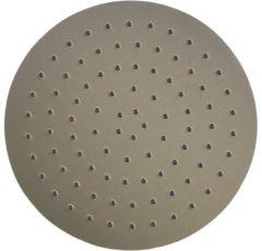 Roestvrijstalen Ben Round 250 mm hoofddouche Geborsteld Nikkel