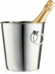 Zilveren Leopold Vienna Champagnekoeler/Wijnkoeler RVS