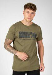 Gorilla Wear Classic T-shirt - Legergroen - 4XL